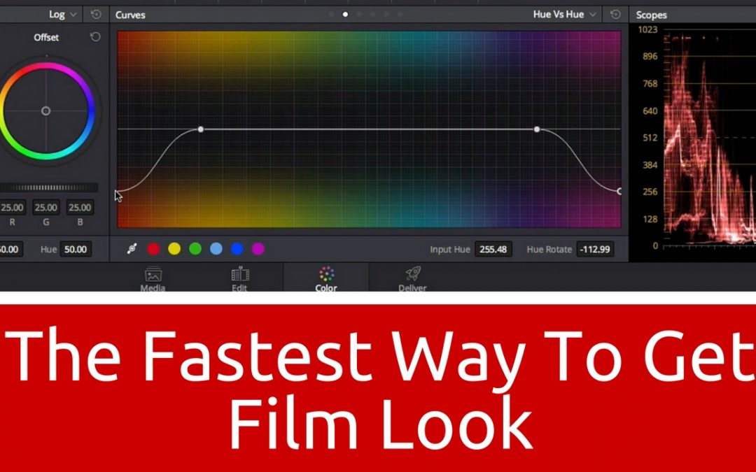 The Fastest Way to Get Film Look in DaVinci Resolve