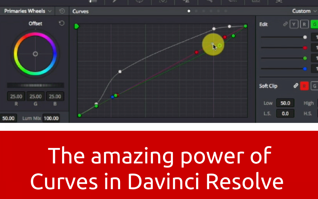 The Amazing Power of Curves and Color Selection in DaVinci Resolve