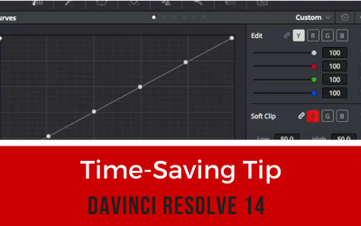 Trick to speed up your custom curves workflow – DaVinci Resolve 14