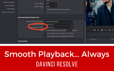 Smooth Playback…Always – DaVinci Resolve 14 Tutorial