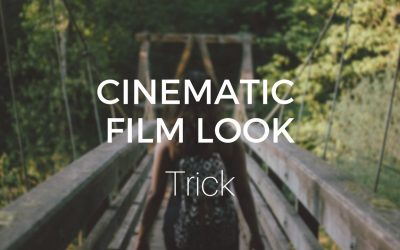 Cinematic Film Look Trick (in less than 2 minutes)