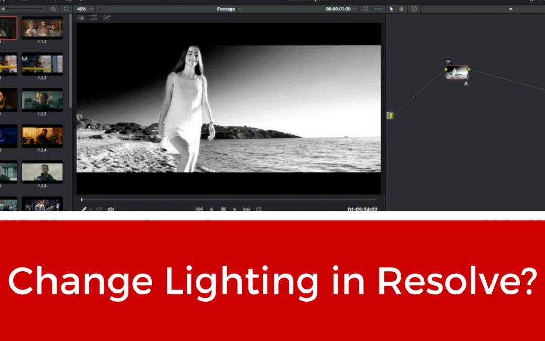 Can You Change Lighting In Resolve?