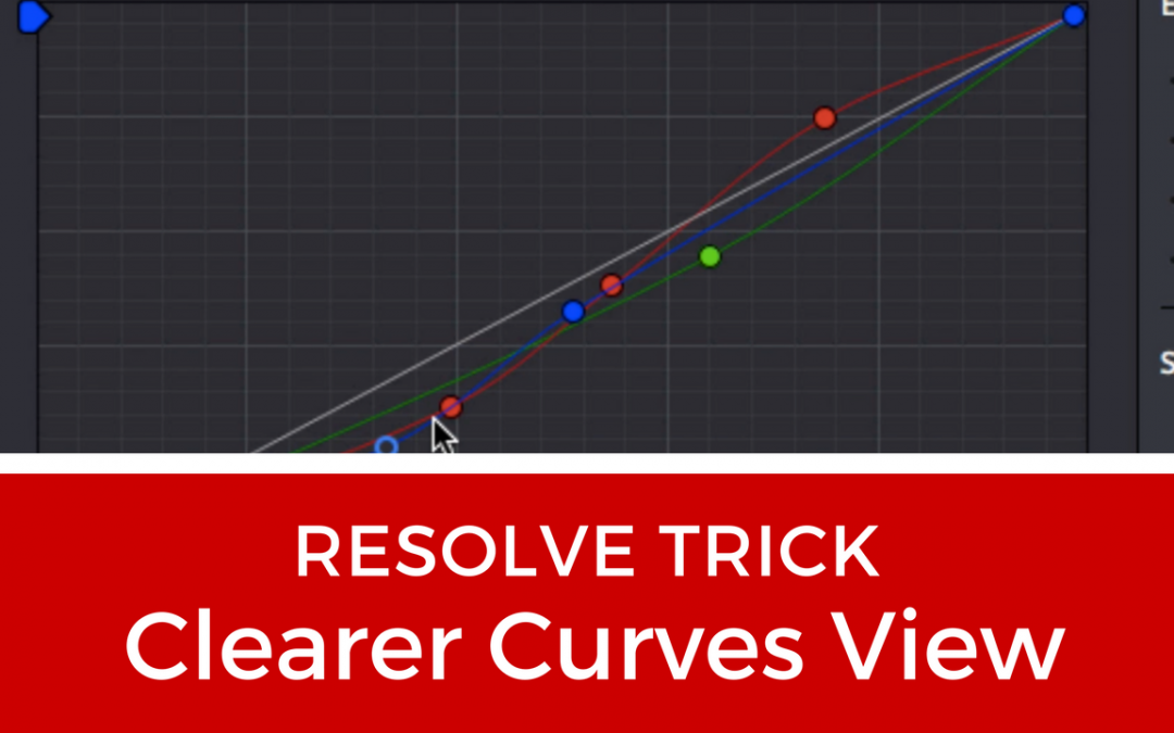 Untangle Curves For Clearer View – DaVinci Resolve 15 Tutorial