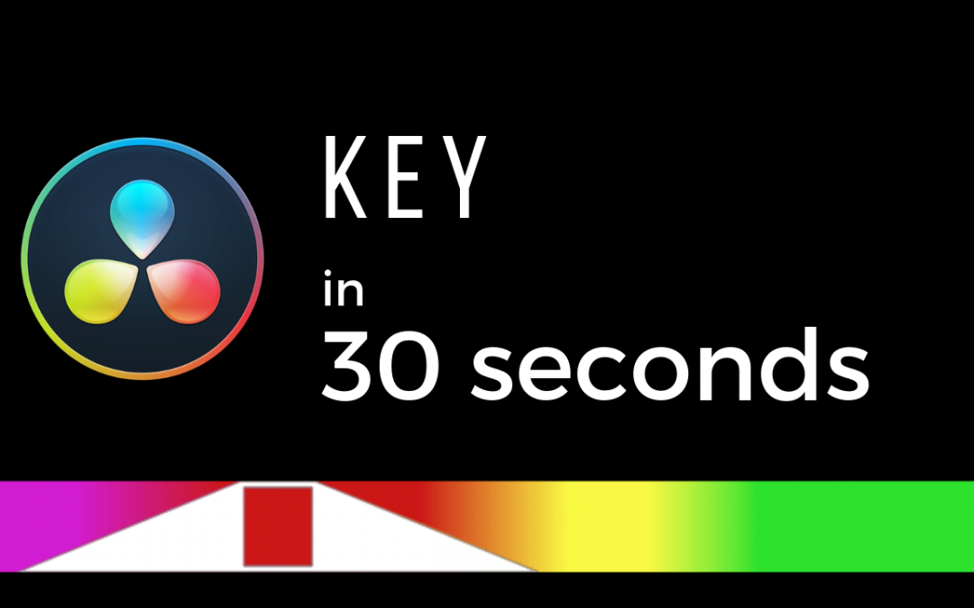 Accurate Key (in 30 SECONDS) – DaVinci Resolve 16