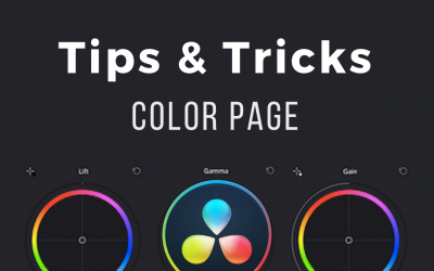 [Color Page in DaVinci Resolve] 10 Helpful Tips