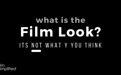 "What does ""film look"" really mean? (It's probably not what you think.)"