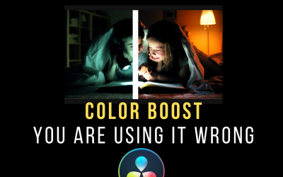 Color boost… You are using it wrong.