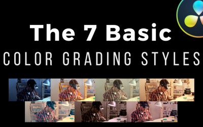 The 7 Essential Color Grading Styles Every Filmmaker Must Learn First